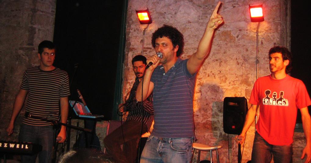 En Pinxo va dir a en Panxo: vols que et xuti amb un punxó? FOTO: Natàlia Casal.